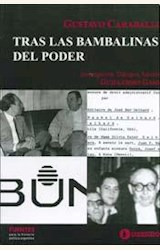 Papel GUSTAVO CARABALLO TRAS LAS BAMBALINAS DEL PODER