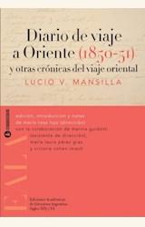Papel DIARIO DE VIAJE A ORIENTE 1850-1851