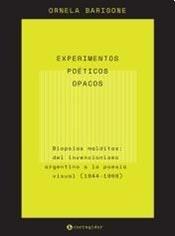 Papel EXPERIMENTOS POETICOS OPACOS