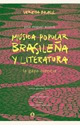 Papel MÚSICA POPULAR BRASILEÑA Y LITERATURA