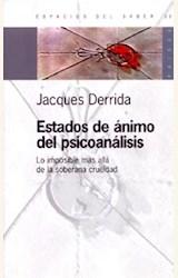 Papel ESTADOS DE ANIMO DEL PSICOANALISIS