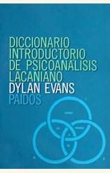 Papel DICCIONARIO INTRODUCTORIO DE PSICOANÁLISIS LACANIANO