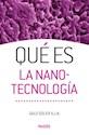Libro Que Es La Nanotecnologia