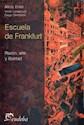 Libro Escuela De Frankfurt