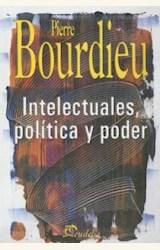 Papel INTELECTUALES, POLITICA Y PODER 2ºEDIC