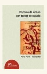 Papel PRACTICAS DE LECTURA CON TEXTOS DE ESTUDIO