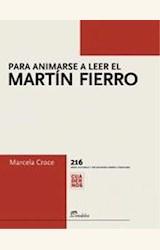 Papel PARA ANIMARSE A LEER EL MARTIN FIERRO