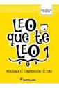 Libro Leo Que Te Leo 1