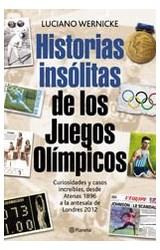 E-book Historias insólitas de los Juegos Olímpicos