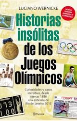 Papel HISTORIAS INSOLITAS DE LOS JUEGOS OLIMPICOS