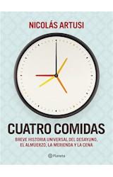 E-book Cuatro comidas