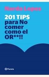 Papel 201 TIPS PARA NO COMER COMO EL OR**