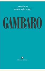 Papel TEATRO III GAMBARO