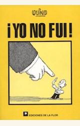 Papel YO NO FUI !