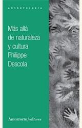 Papel MAS ALLA DE NATURALEZA Y CULTURA