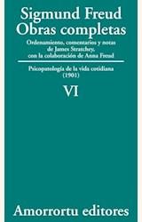 Papel OBRAS COMPLETAS 06 (FREUD)