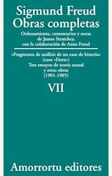 Papel OBRAS COMPLETAS 07 (FREUD)