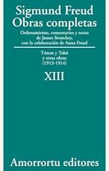 Papel OBRAS COMPLETAS 13 (FREUD)