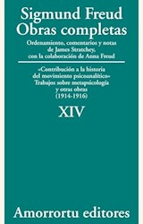 Papel OBRAS COMPLETAS 14 (FREUD)