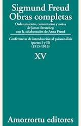 Papel OBRAS COMPLETAS 15 (FREUD)