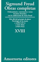 Papel OBRAS COMPLETAS 18 (FREUD)