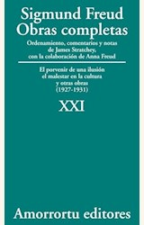 Papel OBRAS COMPLETAS 21 (FREUD)