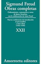 Papel OBRAS COMPLETAS 22 (FREUD)