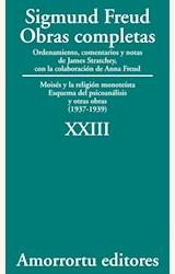 Papel OBRAS COMPLETAS 23 (FREUD)