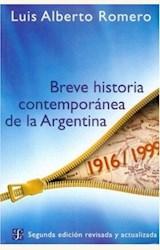 Papel BREVE HISTORIA CONTEMPORANEA DE LA ARGENTINA 2006
