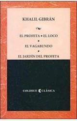 Papel EL PROFETA- EL LOCO-EL VAGABUNDO-EL JARDIN DEL PROFETA