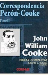 Papel CORRESPONDENCIA PERON-COOKE TOMO II