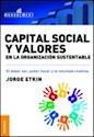 Libro Capital Social Y Valores En La Organizacion Sustentable