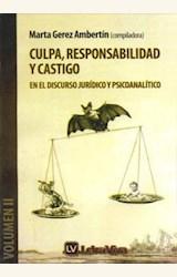 Papel CULPA, RESPONSABILIDAD Y CASTIGO. VOL. II