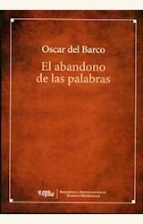 Papel EL ABANDONO DE LAS PALABRAS
