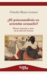 Papel ¿EL PSICOANÁLISIS ES SCIENTIA SEXUALIS?