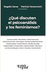 Papel ¿QUÉ DISCUTEN EL PSICOANÁLISIS Y LOS FEMINISMOS?