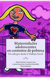 Papel MATERNIDADES ADOLESCENTES EN CONTEXTOS DE POBREZA