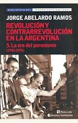 Papel REVOLUCION Y CONTRARREVOLUCION EN LA ARGENTINA