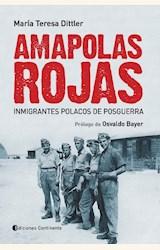 Papel AMAPOLAS ROJAS