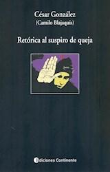 Papel RETORICA AL SUSPIRO DE QUEJA