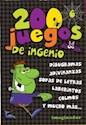 Libro 200 Juegos De Ingenio