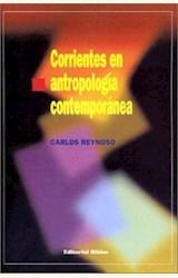 Papel CORRIENTES EN ANTROPOLOGIA CONTEMPORANEA