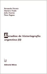 Papel ESTUDIOS DE HISTORIOGRAFIA ARGENTINA II