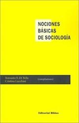 Papel NOCIONES BASICAS DE SOCIOLOGIA