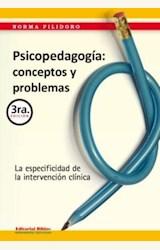 Papel PSICOPEDAGOGIA: CONCEPTOS Y PROBLEMAS