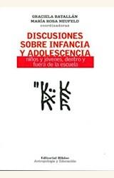 Papel DISCUCIONES SOBRE INFANCIA Y ADOLESCENCIA