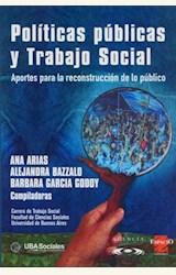 Papel POLITICAS PUBLICAS Y TRABAJO SOCIAL