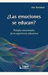 Papel ¿LAS EMOCIONES SE EDUCAN?