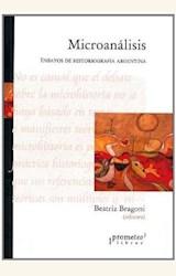 Papel MICROANALISIS. ENSAYOS DE HISTORIOGRAFIA ARGENTINA