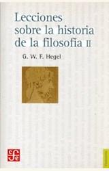 Papel LECCIONES SOBRE LA HISTORIA DE LA FILOSOFIA II